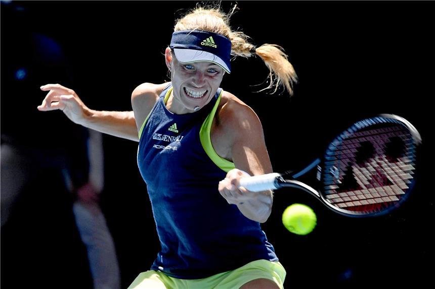 So spielt Angie Kerber im Achtelfinale bei den Australian Open