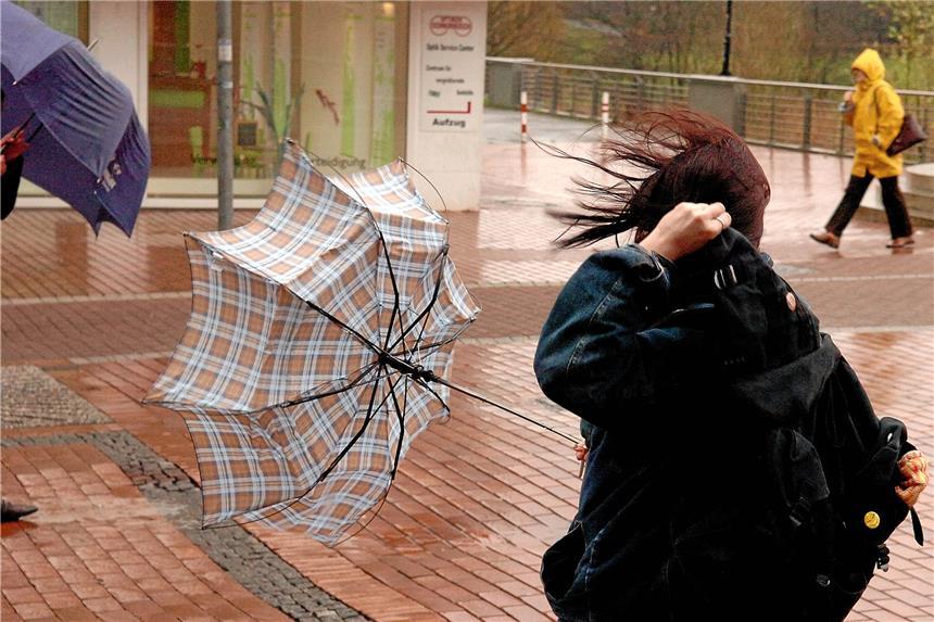 Achtung Sturmwarnung: Eltern entscheiden über Schulbesuch der Kinder