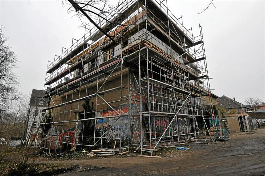 Verrücktestes haus der welt  Hier entsteht Dortmunds verrücktestes Wohnhaus
