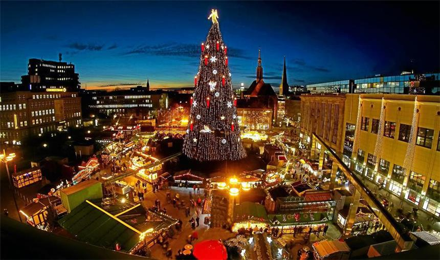 Dortmunder weihnachtsbaum 2016