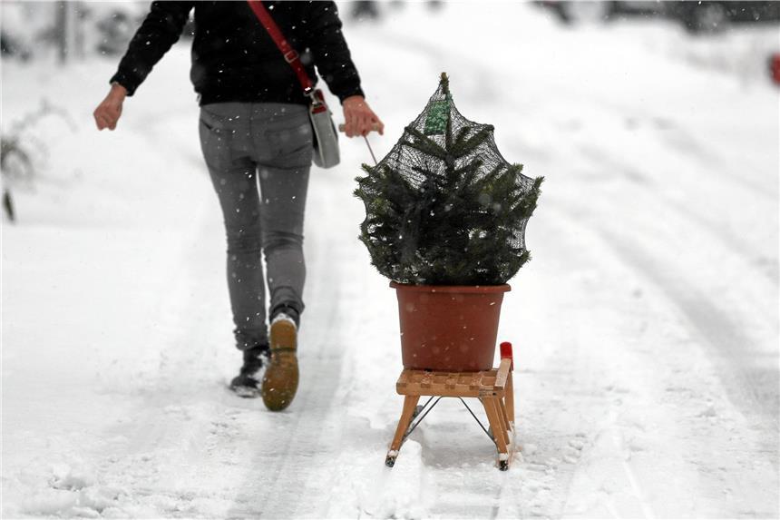 """Für weiße Weihnachten muss ein """"Wetterwunder"""" her"""