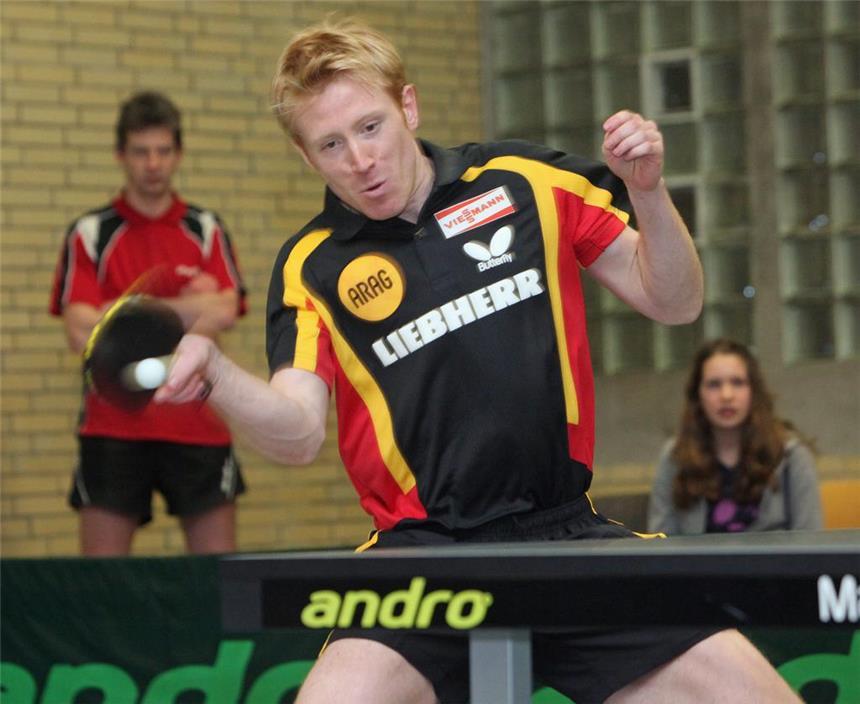Sport Christian Süß Tischtennis Autogrammkarte