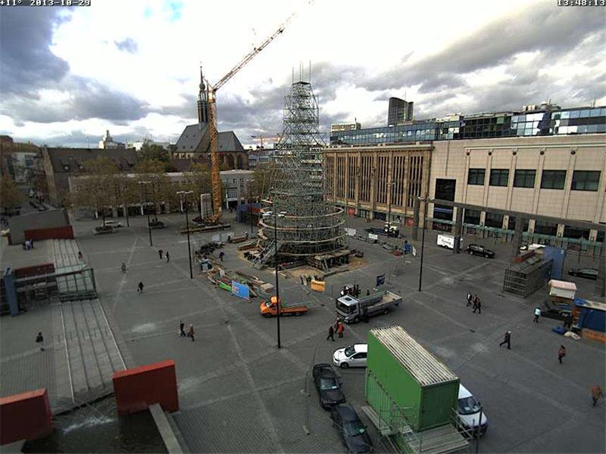 Weihnachtsbaum dortmund 2019 webcam