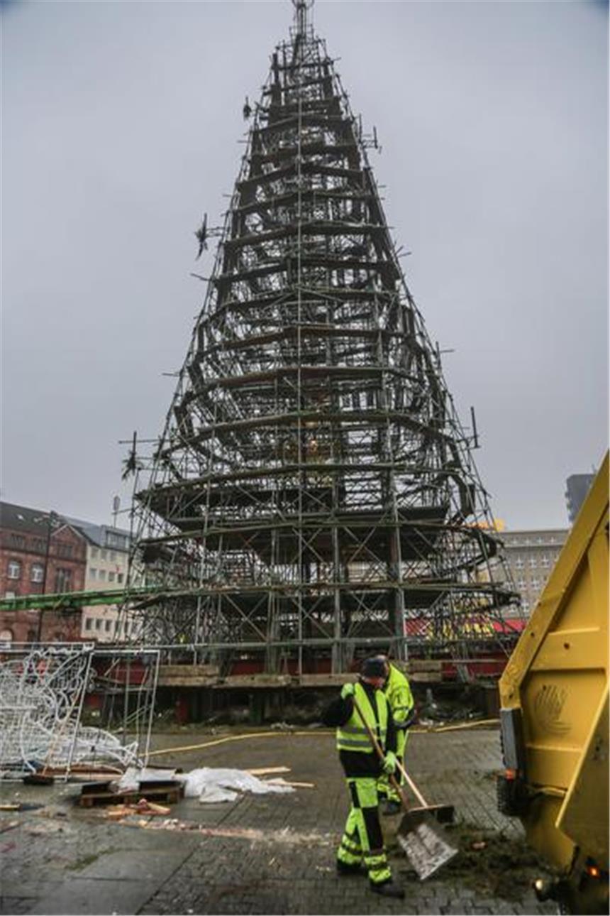 Seit wann gibt es den weihnachtsbaum in dortmund