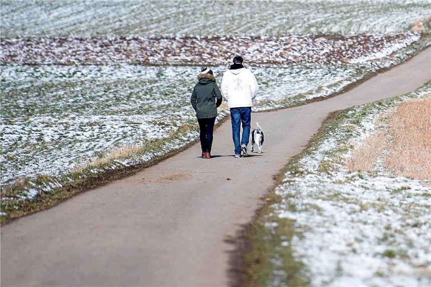 Frühlingsanfang 2018 in Deutschland: Schnee und Frost