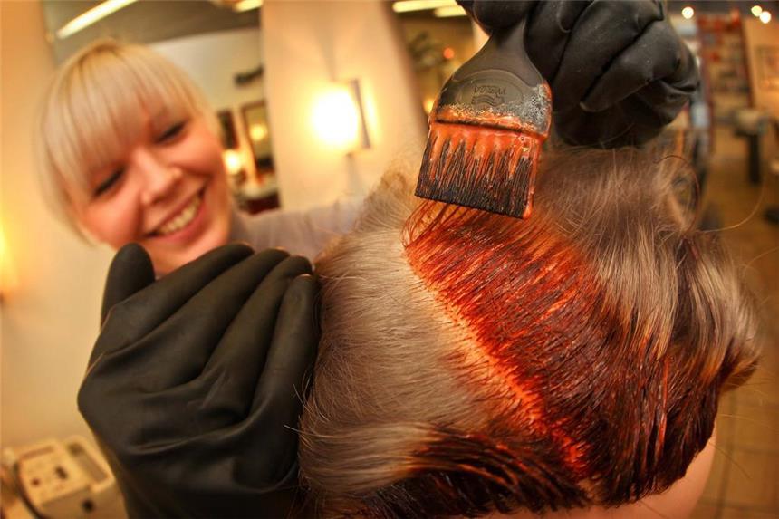 Haare farben mit allergie