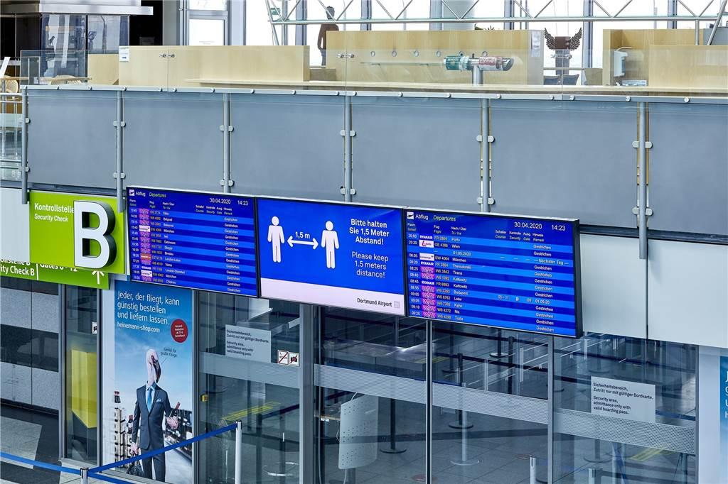 Abflugplan Dortmund