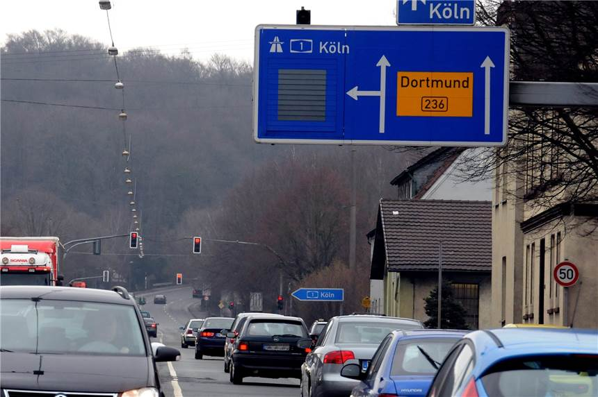 Verkehrsbehinderungen Köln