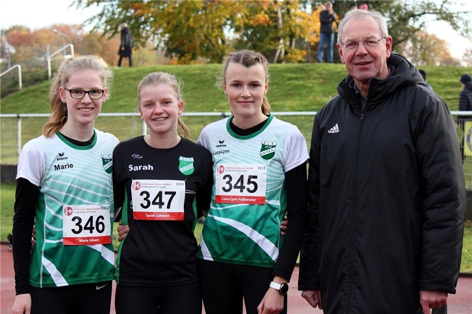 Leichtathletinnen des SuS Olfen schneiden bei Crossmeisterschaften ordentlich ab - Ruhr Nachrichten