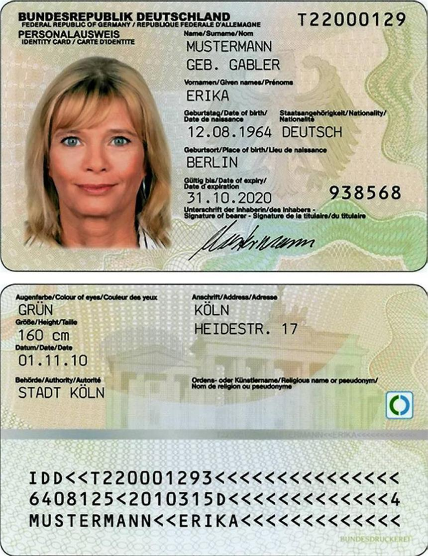 Personalausweis Geburtsurkunde