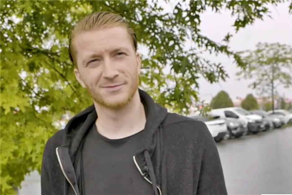 BVB-Kapitän Marco Reus: Beim Wickeln bin ich ausgezeichnet