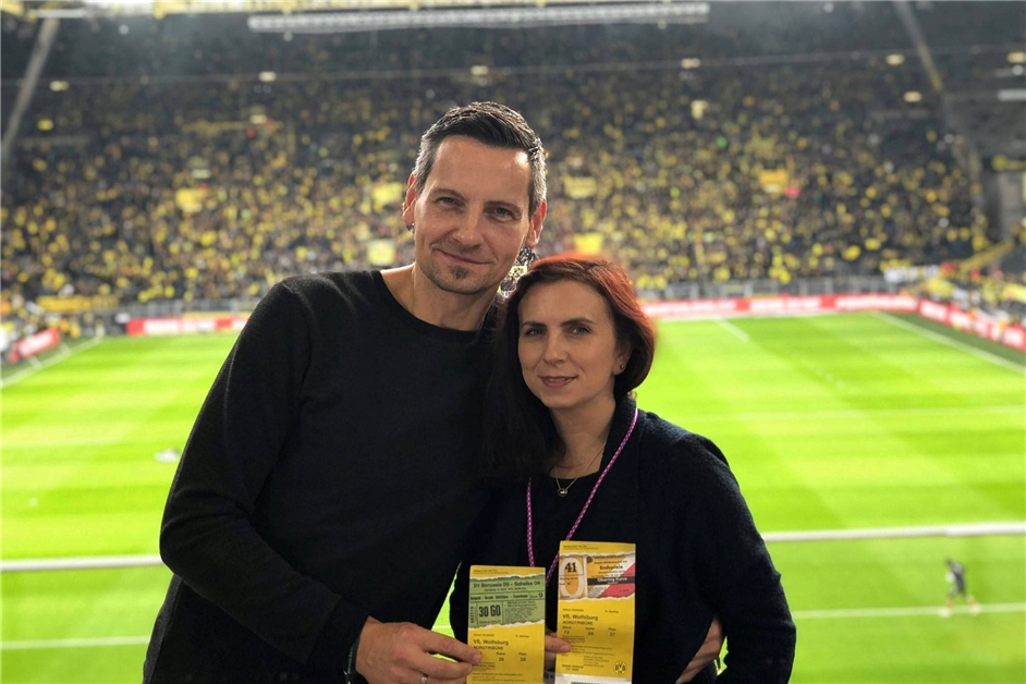 Glückspilz-Ehepaar sieht Borussia siegen - Ruhr Nachrichten