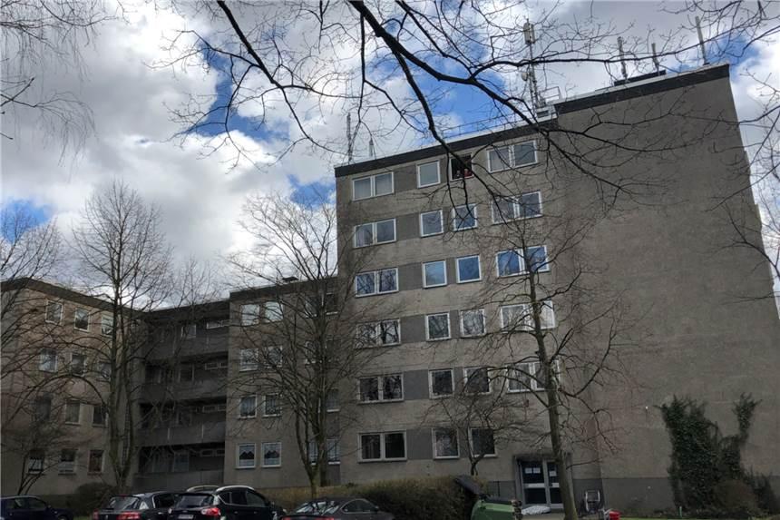 Hochhaus Quarantäne