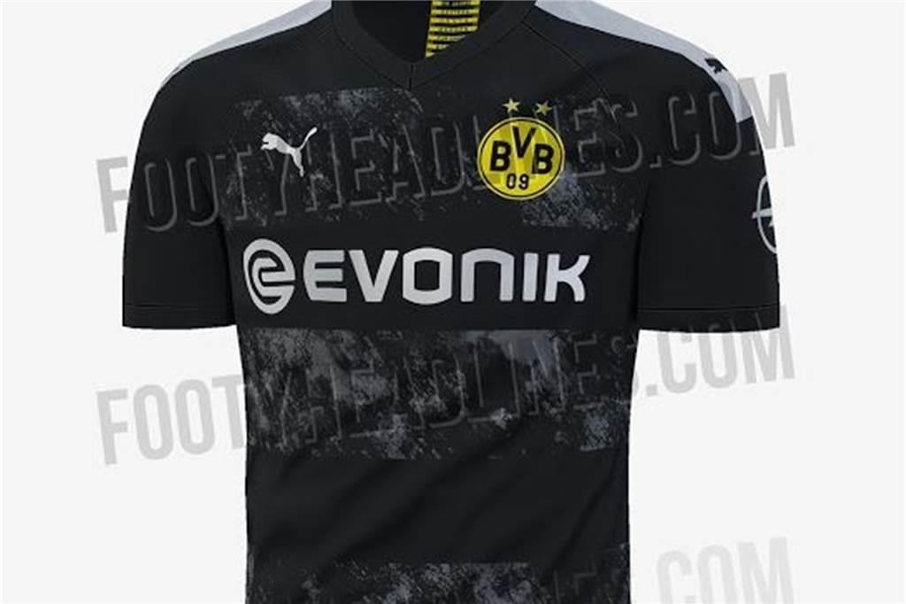 the latest e02a4 ea854 Schon drei mögliche BVB-Trikots der Saison 2019/2020 geleakt