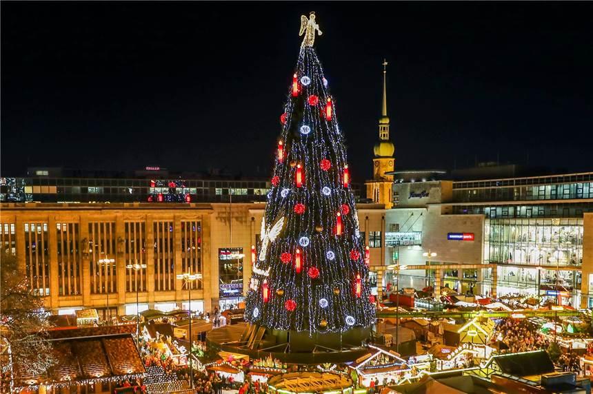 Weihnachtsbaum Schwerte.Ausgenadelt Das Passiert Mit Dem Größten Weihnachtsbaum Der Welt