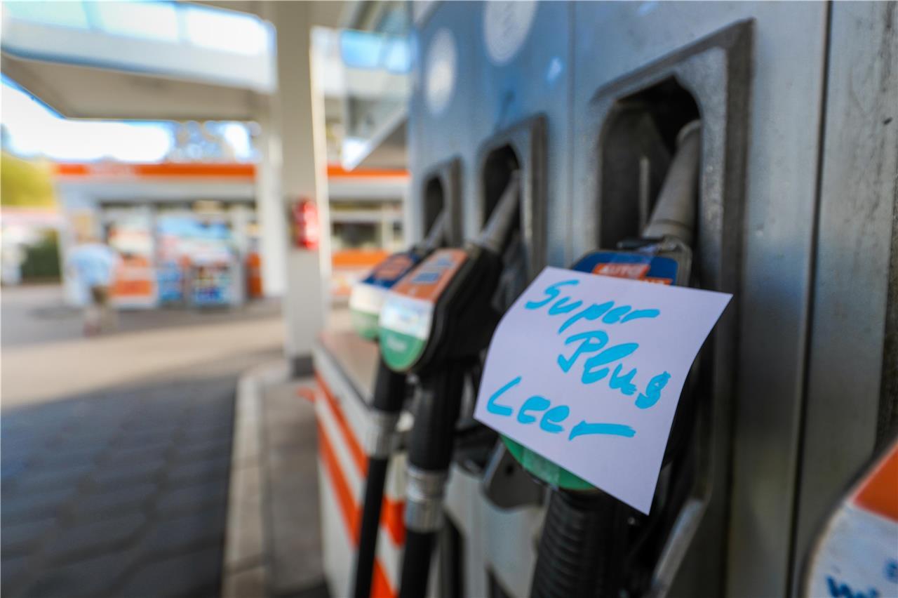 Einigen Tankstellen In Dortmund Ist In Den Vergangenen Tagen Der