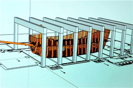 ein schiff mittendrin so soll das carlos restaurant in schwerte aussehen. Black Bedroom Furniture Sets. Home Design Ideas