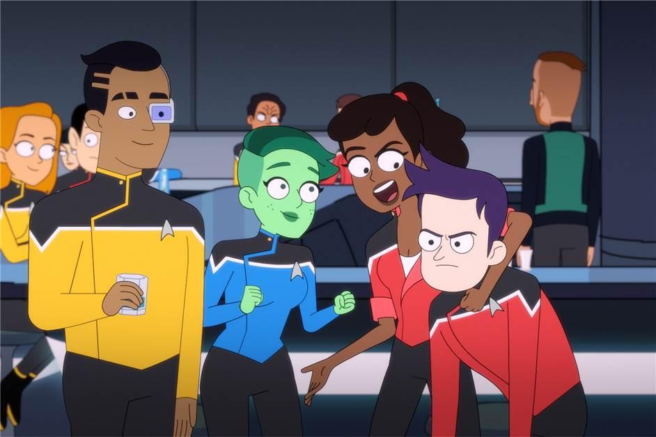 Star Trek: Sternenflotte als Tummelplatz für Scherzkekse