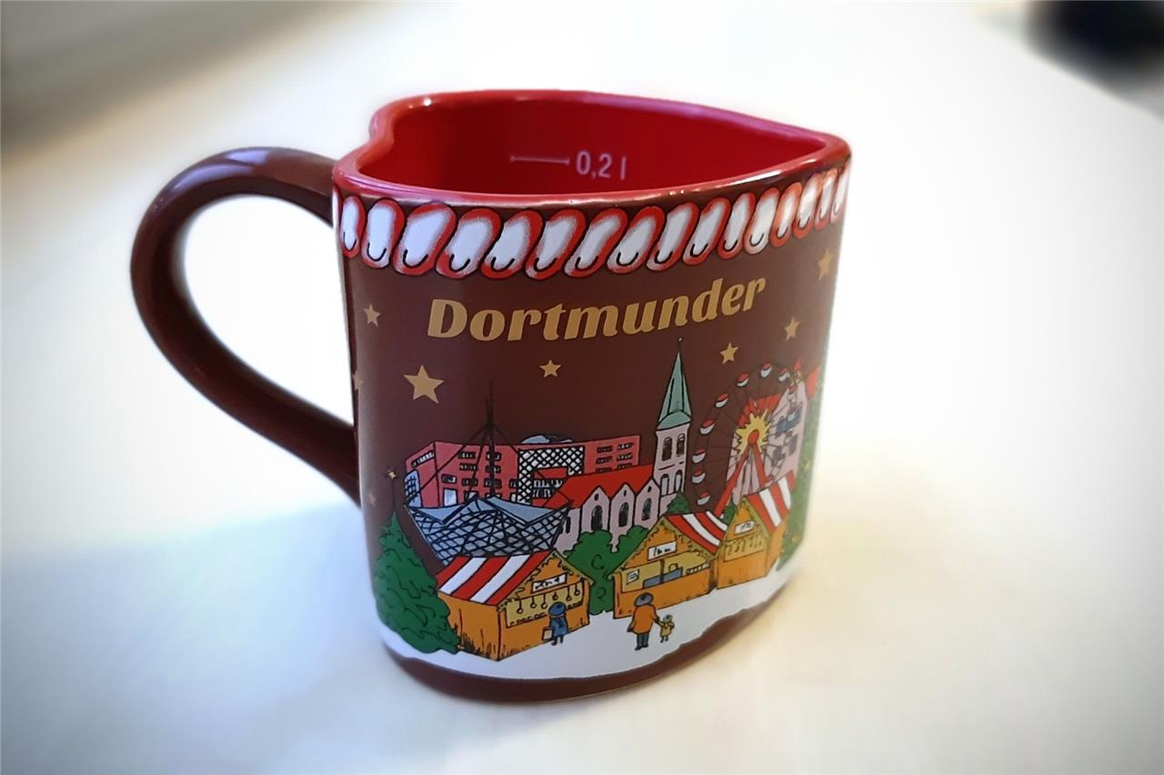 Dortmunder Weihnachtsmarkt Tasse 2019 hat einen Fehler und