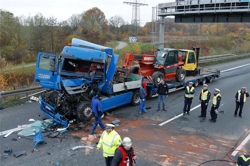A2 Lkw Unfall
