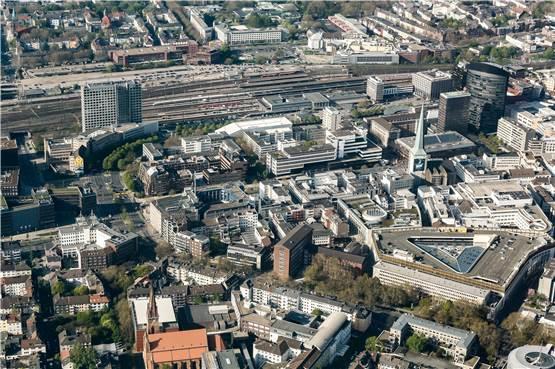 Dortmund Luftaufnahme Westfalenstadion 2000 Motiv 7+