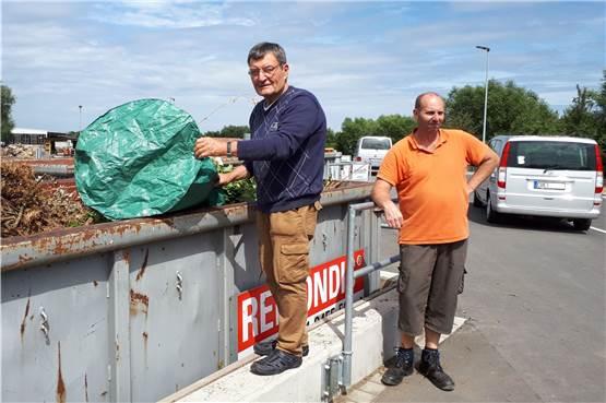 Wertstoffhof Olfen: Container lassen sich jetzt leichter