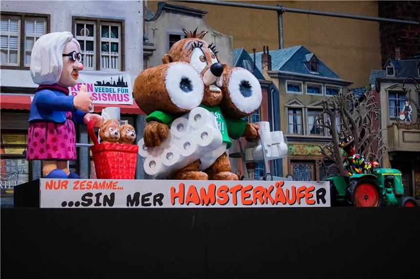 Karnevalsumzüge Köln 2021