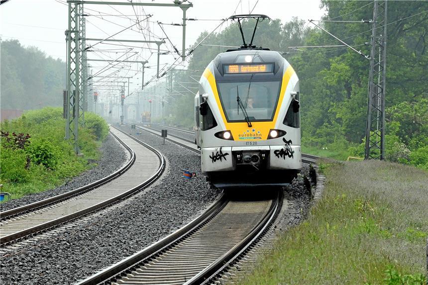 Bahnstrecke Dortmund Lünen Ist Nach Sperrung Wieder Frei