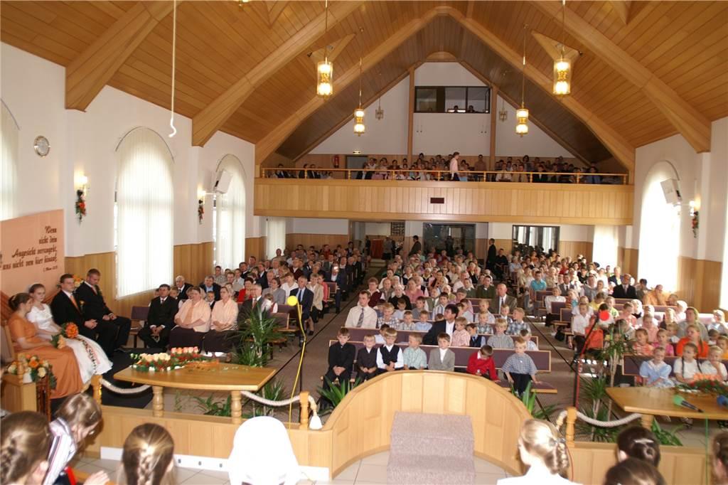 Gemeinde Baptisten braucht mehr Platz: Neubau an