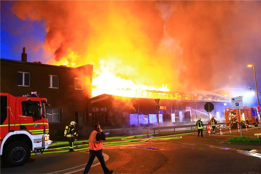 Großbrand Gelsenkirchen