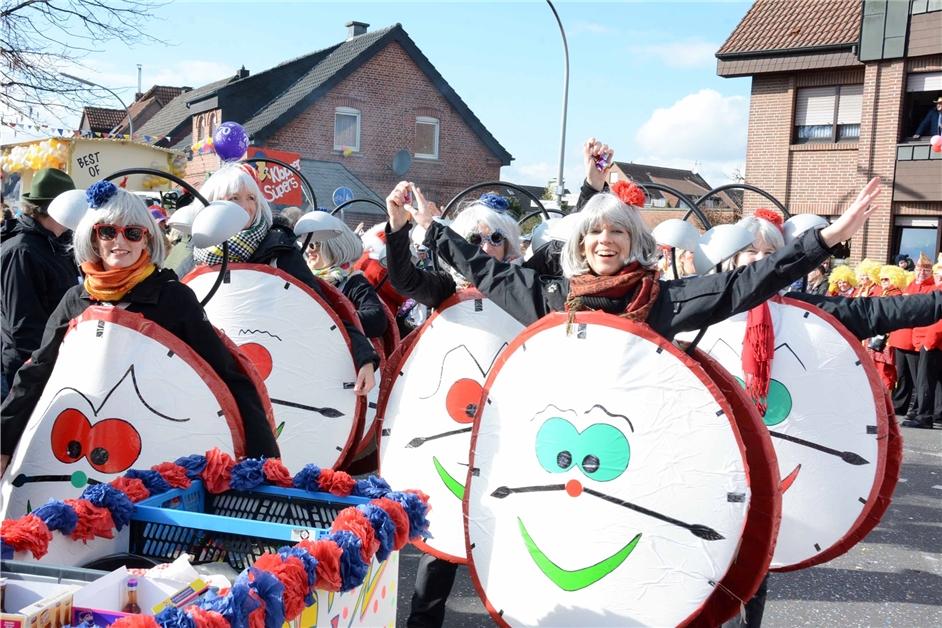 Vorbereitung auf Karneval: Das sind alle Bilder zum Karneval 2018/2019 in Olfen - Ruhr Nachrichten