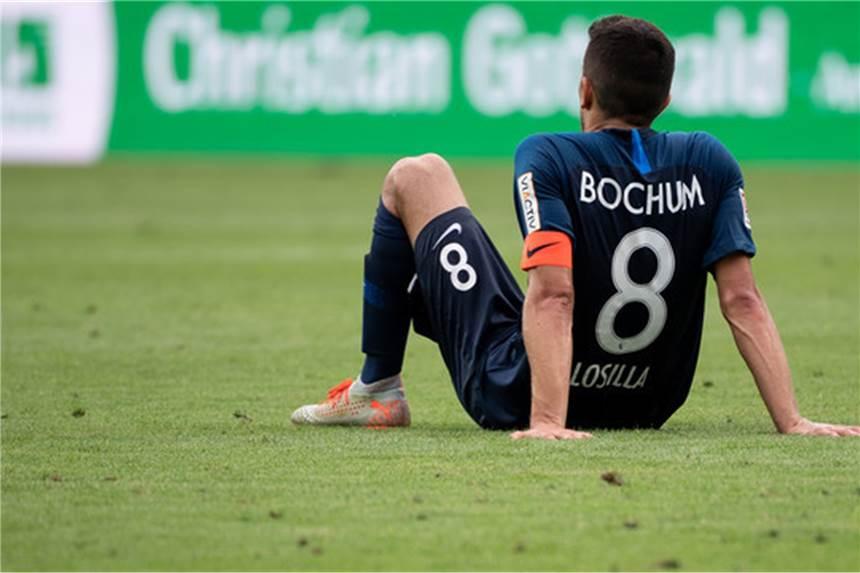 Immer noch sieglos: Spieler des VfL Bochum in Sorge