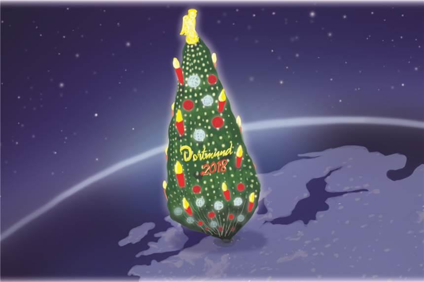 Weihnachtsbaum Schwerte.Der Dortmunder Weihnachtsbaum Kann Gar Nicht Groß Genug Sein