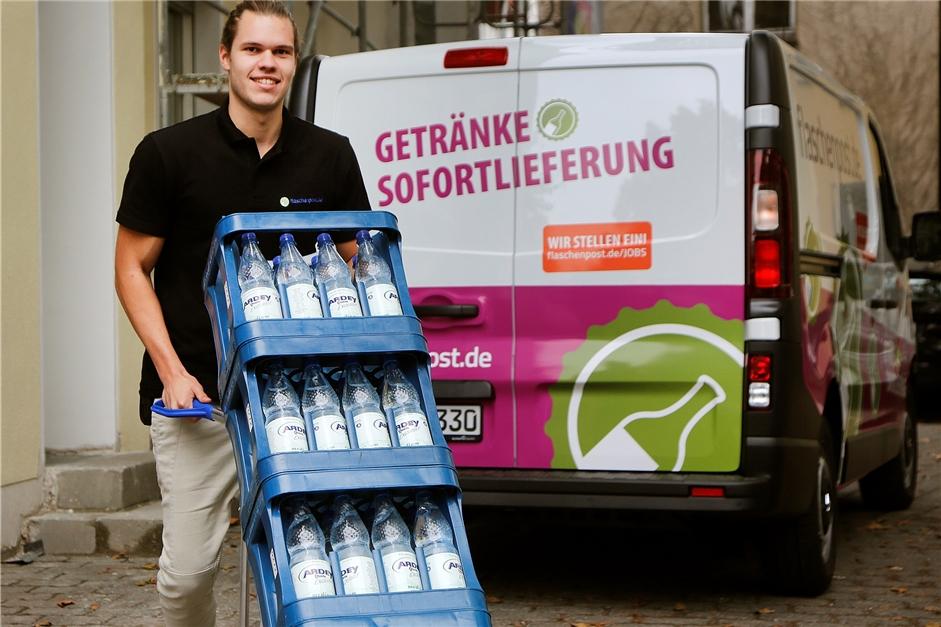 Flaschenpost bringt bis vor die Haustür Getränke | RN Werne