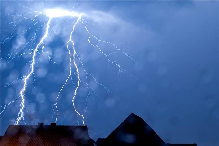 Wetterdienst warnt vor starkem Gewitter in Bremen