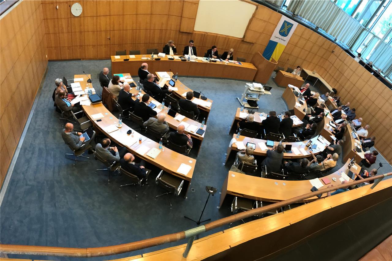 Ratsmitglieder kosten die Stadt im Monat 20.000 Euro