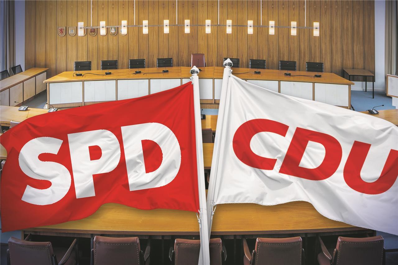 """Große Koalition"""" in Lünen: CDU und SPD stellen Fahrplan bis 2025 vor"""
