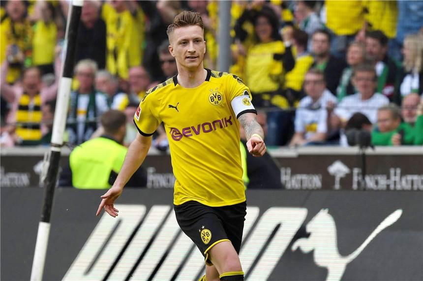 Bvb Kapitan Marco Reus Ist Fussballer Des Jahres 2019