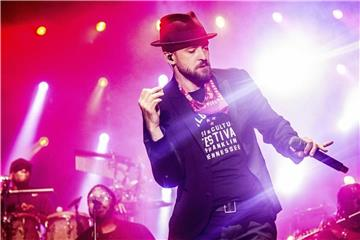 Justin Timberlake 2017 beim Pilgrimage Music and Cultural Festival. Foto: Amy Harris
