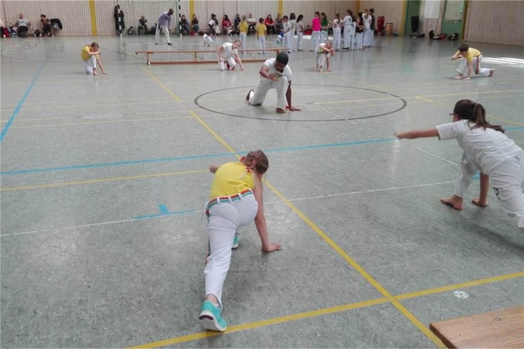 Capoeira steht für Lebensfreude und Disziplin