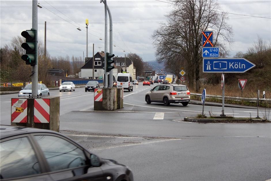 Zwischen den A1-Auffahrten in Schwerte: Hörder Straße wird schon bald enger - Ruhr Nachrichten