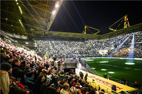Dortmund Stadion Zuschauer