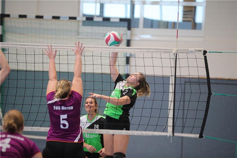 Die Siegesserie der Volleyballerinnen des SuS Olfen hält weiter an - Ruhr Nachrichten