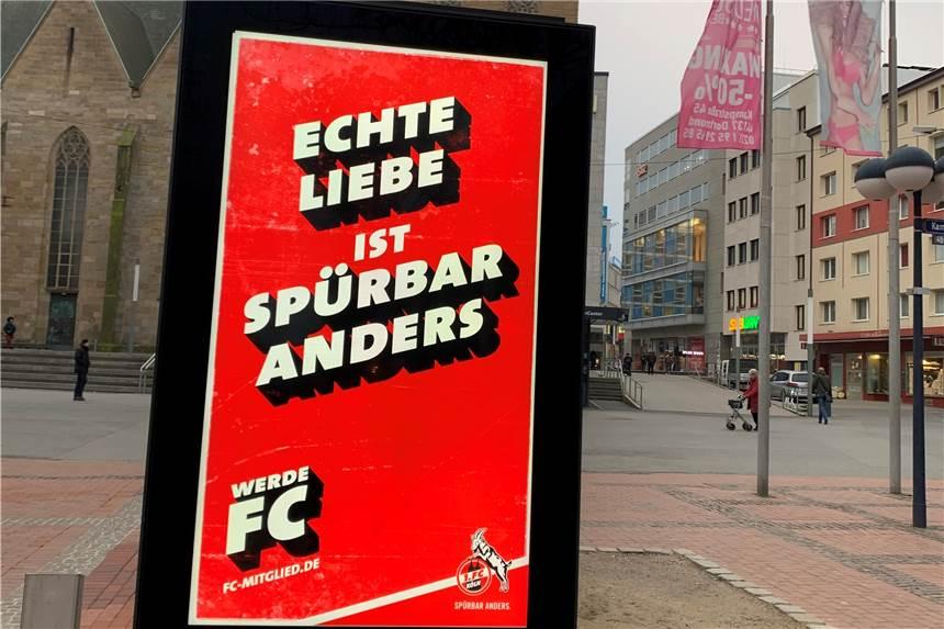 Bvb Gegen 1 Fc Koln Freche Effzeh Werbeplakate In Dortmund Aufgetaucht