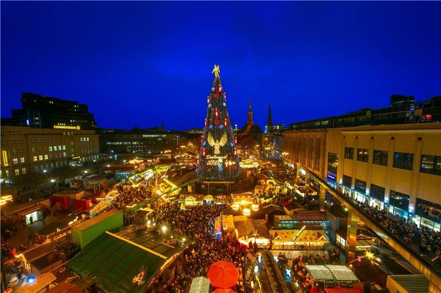 Dortmund Weihnachtsmarkt.Weihnachtsmarkt In Dortmund Das Ist 2019 Neu