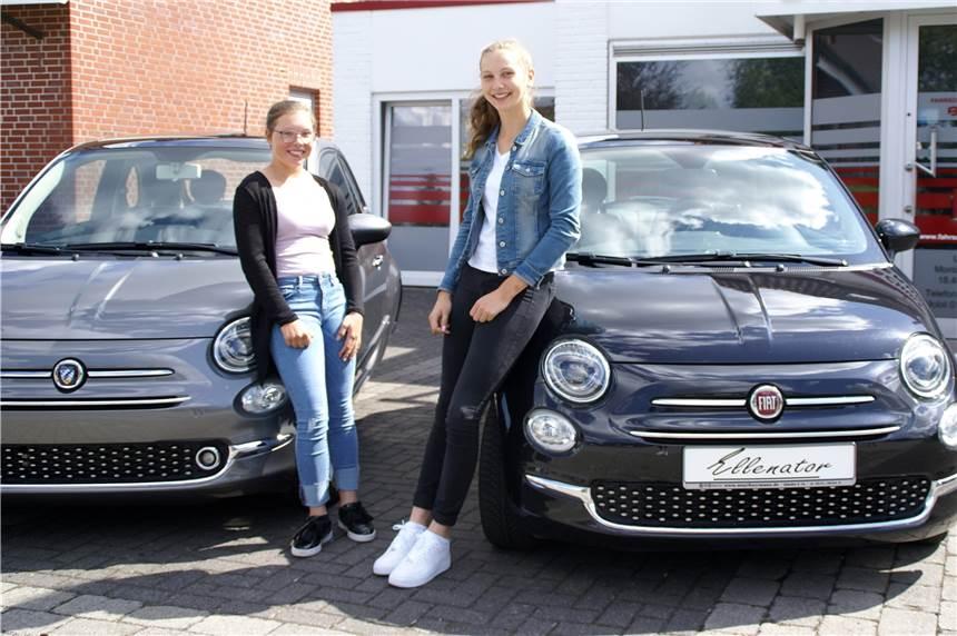Dank Ellenator Dürfen Pia Und Alina Mit 16 Alleine Auto Fahren