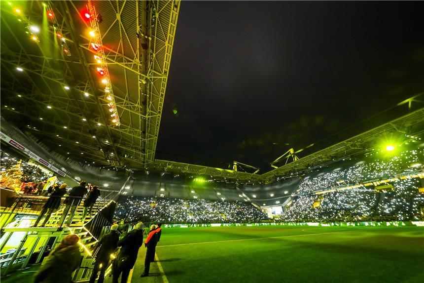 Weihnachtssingen Stadion