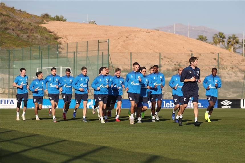 Schalke Trainingslager
