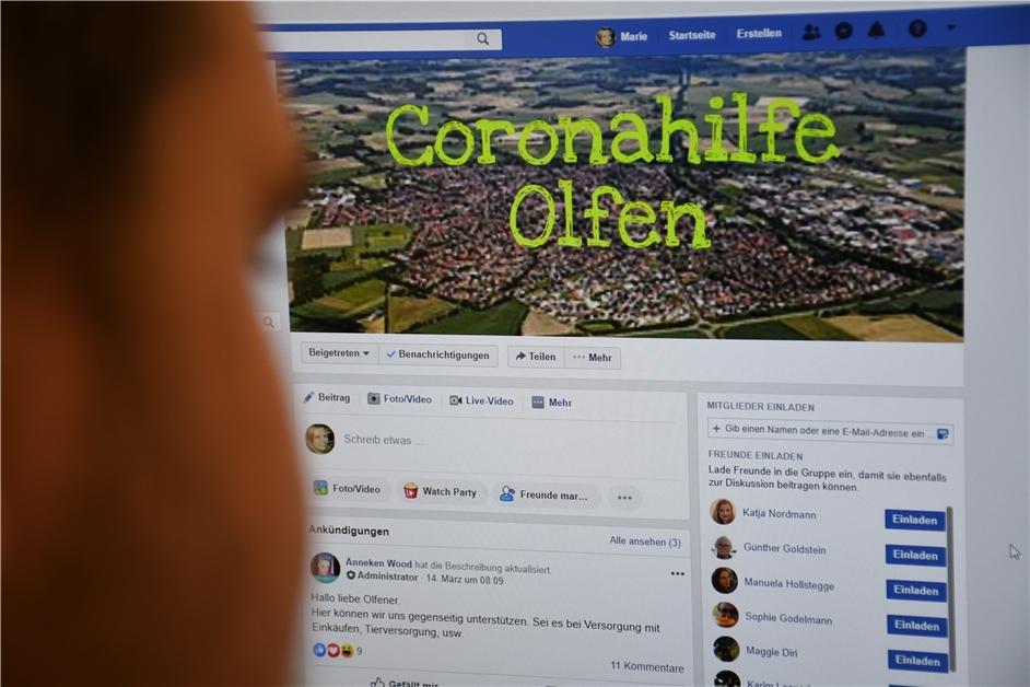 Coronavirus Olfen