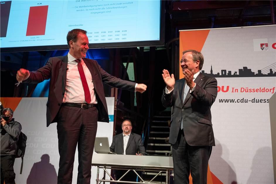 Freud und Leid für SPD und CDU bei...